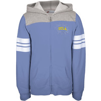 UCLA Bruins - Rhinestone Rays Logo Girls Youth Zip Hoodie