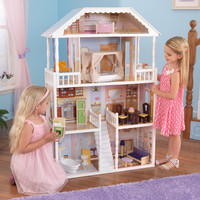 KidKraft New Savannah Dollhouse with furniture - 65023