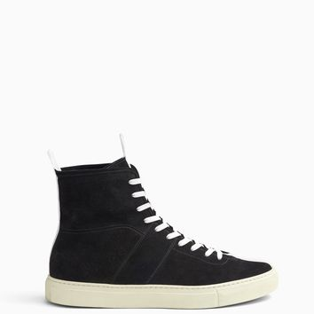 high top roamer / black + white + ivory