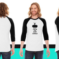 Just Dance American Apparel Unisex 3/4 Sleeve T-Shirt