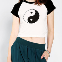 Urban Outfitters - O-Mighty Yin Yang Cropped Tee