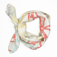 Symmetry Silk Scarf