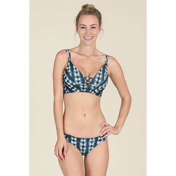 Tori Praver Swimwear - Eliza Top | Indo Blue