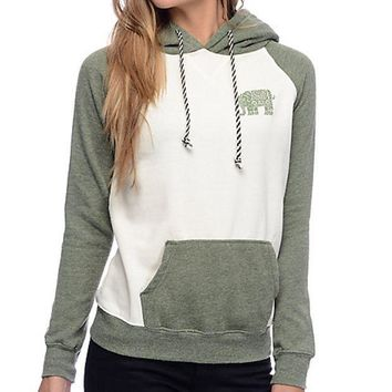 ICIKID4 The elephant stamp mosaic Hoodie female