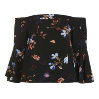 Floral Ella Bardot Top - New In This Week - New In
