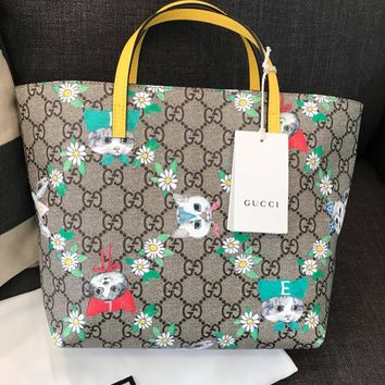 GUCCI Children's GG Supreme Tote