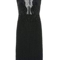 Sleeveless Scallop Embroidered Dress | Moda Operandi