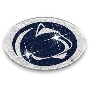 Penn State Nittany Lions Glitter Infused Bling Car Emblem