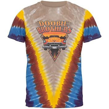 Doobie Brothers - Rockin' Down the Highway Tie-Dye T-Shirt
