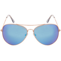 Duffy Aviator Sunglasses in Blue