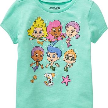 Old Navy Bubble Guppies Tees For Baby