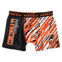Cincinnati Bengals Official NFL Compression Underwear