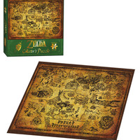 "The Legend of Zelda - Collector's Puzzle - 550 Pieces - 18"" x 24"""