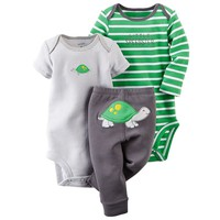 Carter's Animal Bodysuit & Pants Set - Baby Boy, Size:
