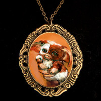 Gremlins Cameo Necklace by Goraline on Etsy