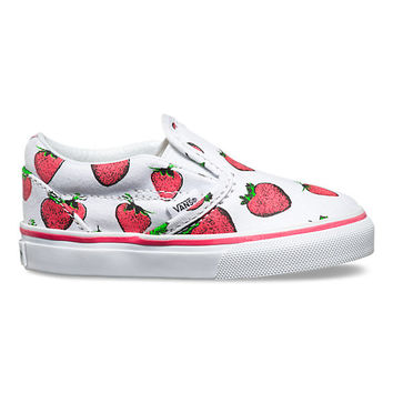 Toddlers Strawberries Slip-On | Shop Toddler Shoes at Vans