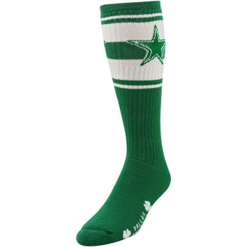 Dallas Cowboys St. Patrick's Day Super Tube Socks - Kelly Green