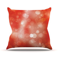 "KESS Original ""Passion Fruit"" Throw Pillow, 16"" x 16"" - Outlet Item"