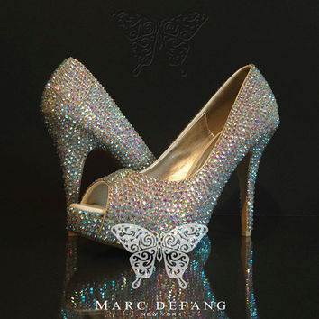 Bridal Essentials, Luxury AB Crystal Heels