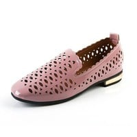 Hollow Out Breathable Flat Casual Shoes For Women