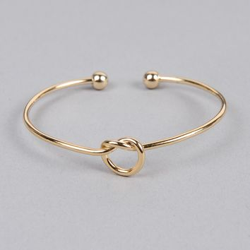 Armitage Avenue Knot Bangle