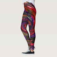 Colorful patterns leggins leggings