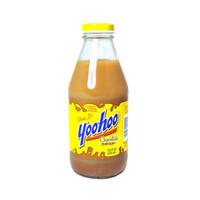 YooHoo Chocolate Milk 15.5 oz Glass Bottles - Case of 24