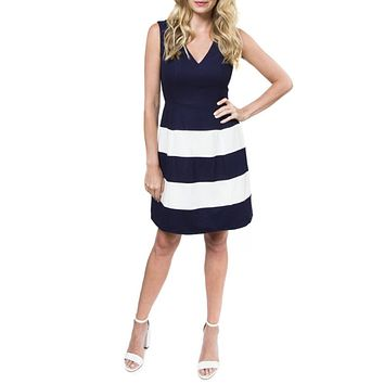 Jaelyn Fit and Flare Dress