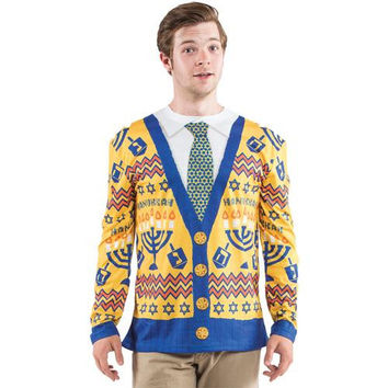 Men's Costume: Ugly Hanukkah Sweater | XL
