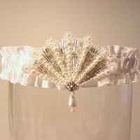MILADY'S wedding garter A PETERENE original by PetereneDesign