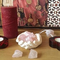 Crystals, Rose Quartz ~ Natural Healing ~ Love