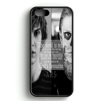 American Horror Story Skull Quote iPhone 5 | 5S Case