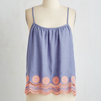 Boho Mid-length Spaghetti Straps Sealed With a Wish Top