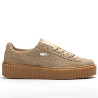 """SUEDE CREEPERS """"Oatmeal"""""""