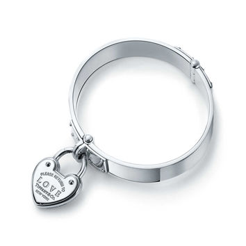 Tiffany & Co. - Return to Tiffany®:Love Lock Hinged Bangle