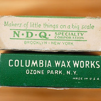 Made in The USA BIRTHDAY Candles - copyright date 1936, Vintage Candles, Birthday Candles,