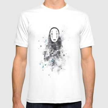 No Face T-shirt by MonnPrint