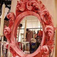 ornate carved mirror by foxbat boutique | notonthehighstreet.com