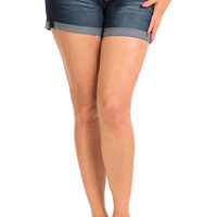 WannaBettaButt Back Pocket Design Shorts Women Jeans