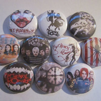 My Chemical Romance Rock Band Pinback Button Badge Pin