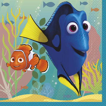 Finding Dory Party Luncheon Napkins [16 per pack]