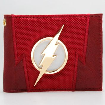 DC Comics The Flash Suit Up Bifold Boxed Wallet DFT-1875