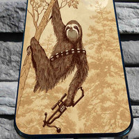 Sloth Wars 2 for iPhone 4/4s/5/5S/5C/6, Samsung S3/S4/S5 Unique Case *95*