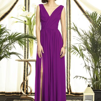 Dessy Collection Lux Chiffon Long Dress 2894