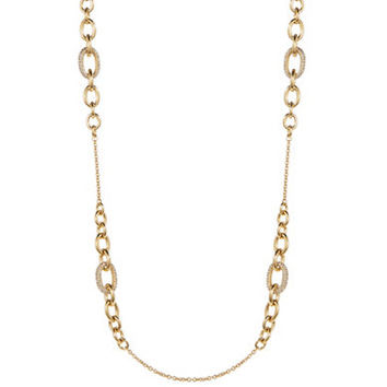 Kate Spade New York Pave and Chain-link Scatter Necklace