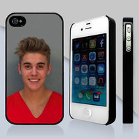 New Justin Bieber Mugshot Jail Apple iPhone & Samsung Galaxy Case