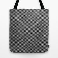 plaid hypnosis Tote Bag by RichCaspian