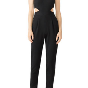 Hunter Bell Black Kelly Jumpsuit