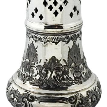 Antique Silverplate Sugar Shaker
