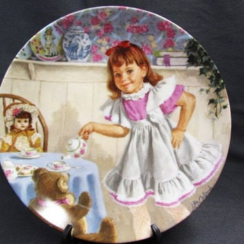 Vintage I'm a Little Teapot Collectible Plate